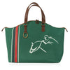 Horse Lover Weekender Tote Bag - Fully Lined - Weekend, Shopping, Horse Show or Gym Bag - Georgia Horseback