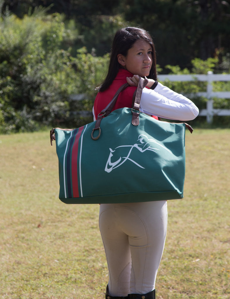 Weekender Tote Bag - Fully Lined - Weekend, Shopping, Horse Show or Gym Bag