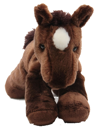 "Georgia Horseback Plush 8"" Horse - Personalize with a name - perfect gift"