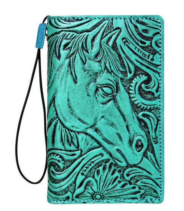 Horse Head Leather IPhone X Case/Cover/Wallet - Georgia Horseback