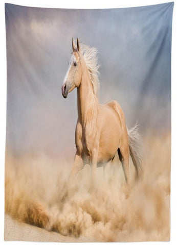 Equine Decor - Palomino Horse Tablecloth