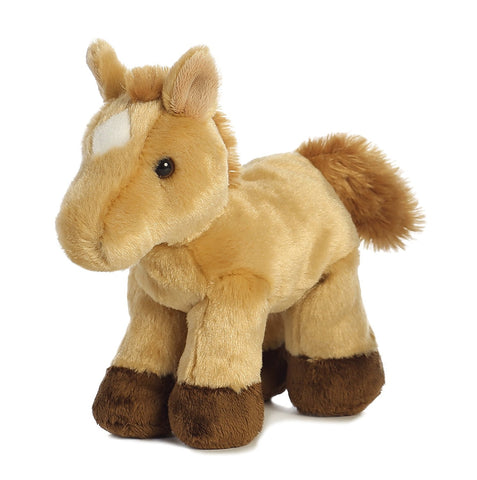 8 Inch Mini Plush Stuffed Animal by Aurora & Adoption Certificate