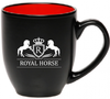 Royal Horse Equestrian Mug Coffee Cup - 16oz - two toned - great gift for a horse lover - Georgia Horseback