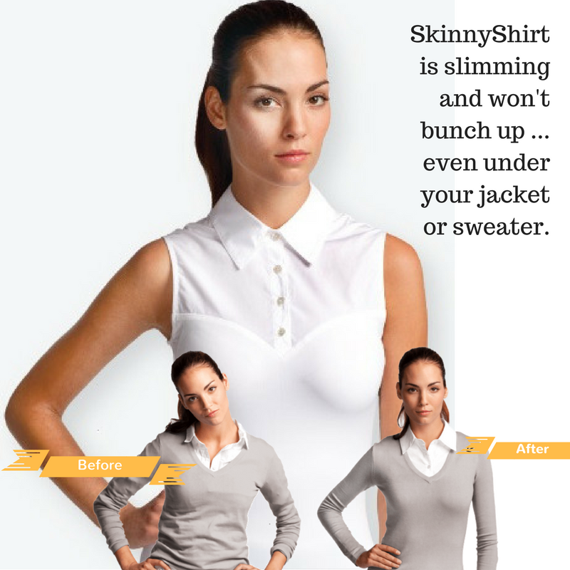 SkinnyShirt - Shapewear and a sleeveless shirt all in one! Riding shirt - Georgia Horseback