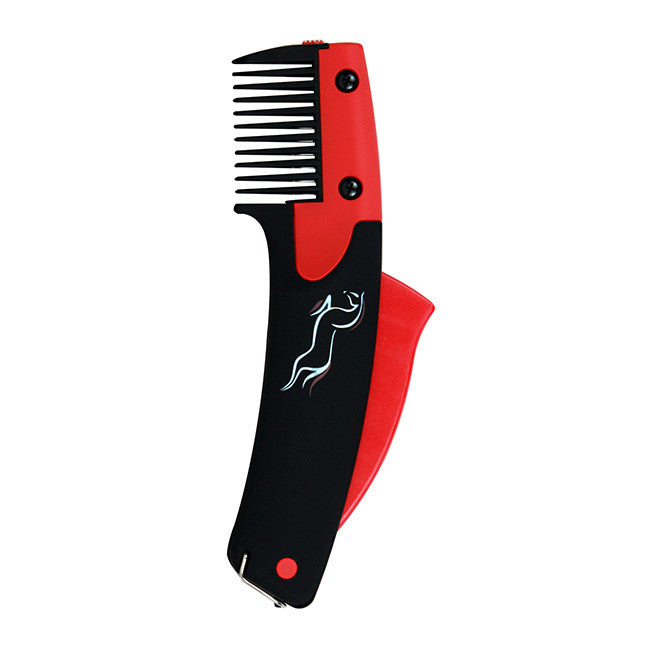 SoloComb -No Pull Mane & Tail Tool For Horses & Dogs - The alternative to scissors