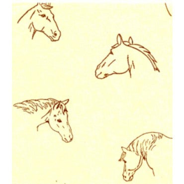 Equestrian Gift Supplies - Horse Lovers Gift Wrap Tissue Paper