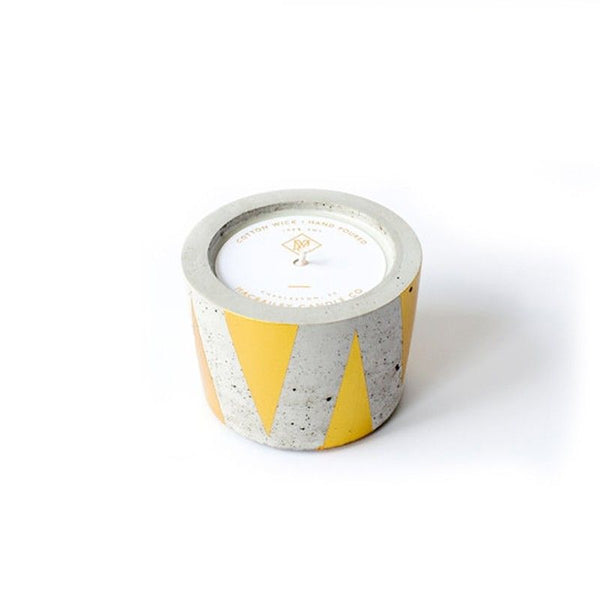 MacBailey Candle Co. Concrete Candle