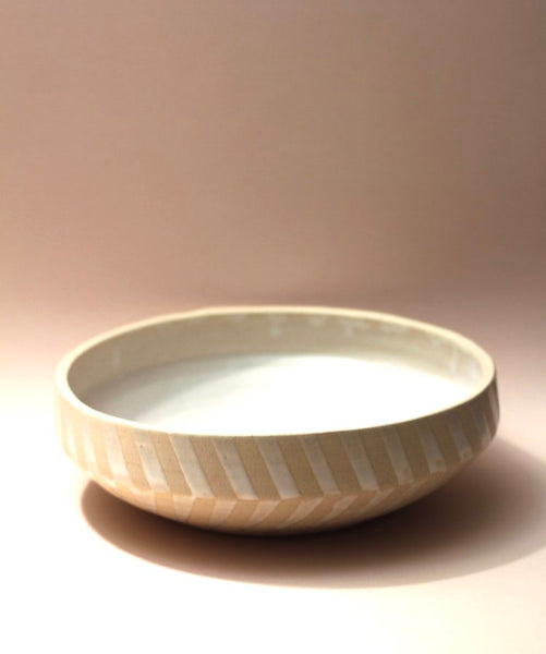 ceramic scg Braided Serving Bowl