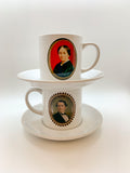 Mary Evans Shoolbred Gibbes Espresso Cup and Saucer