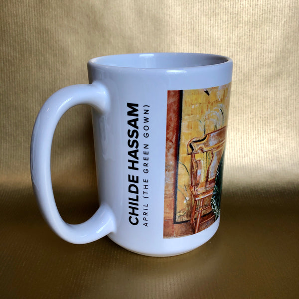 15 oz Gibbes Mug: April (The Green Gown)