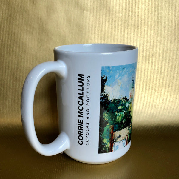 15 oz Gibbes Mug: Cupolas and Rooftops