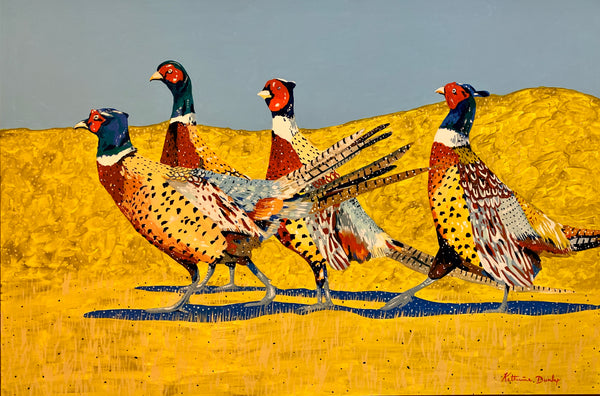 The Pheasants by Katherine Dunlap