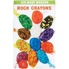 Kid Made Modern Rock Crayons 12pk