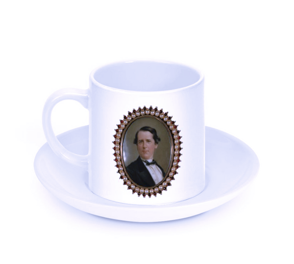 James Shoolbred Gibbes Espresso Cup and Saucer