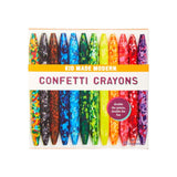 Kid Made Modern Confetti Crayons Set of 12