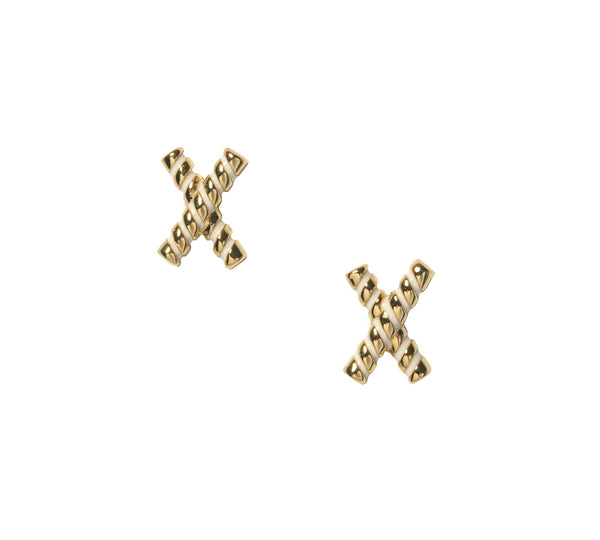 Goldbug Collection: Love on Top Earrings