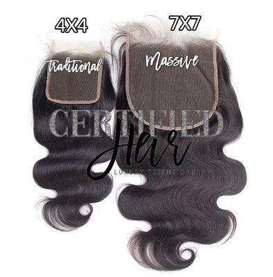 CLOSURE NATURALLY CERTIFIED - 4x4 & 5x5