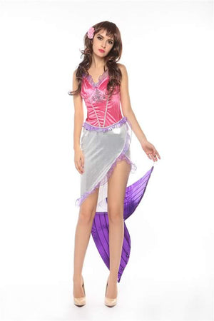 Sexy Mermaid Princess Costume for Women Party Outfit