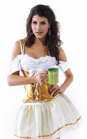 Sexy Beer Girl Costume for Women Oktoberfest Uniform Outfit