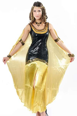 Sexy Egypt Queen Costume for Women Cleopatra Uniform Outfit