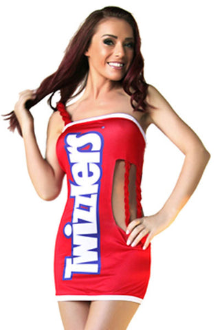 Sexy Twizzlers Costume for Women Club Uniform Halloween Outfit