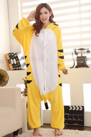 Naughty Tiger Pajamas for Women One Piece Animal Costume Outfit