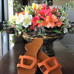 Chinelo Arezzo Laranja Chinelo - Uz Shoes