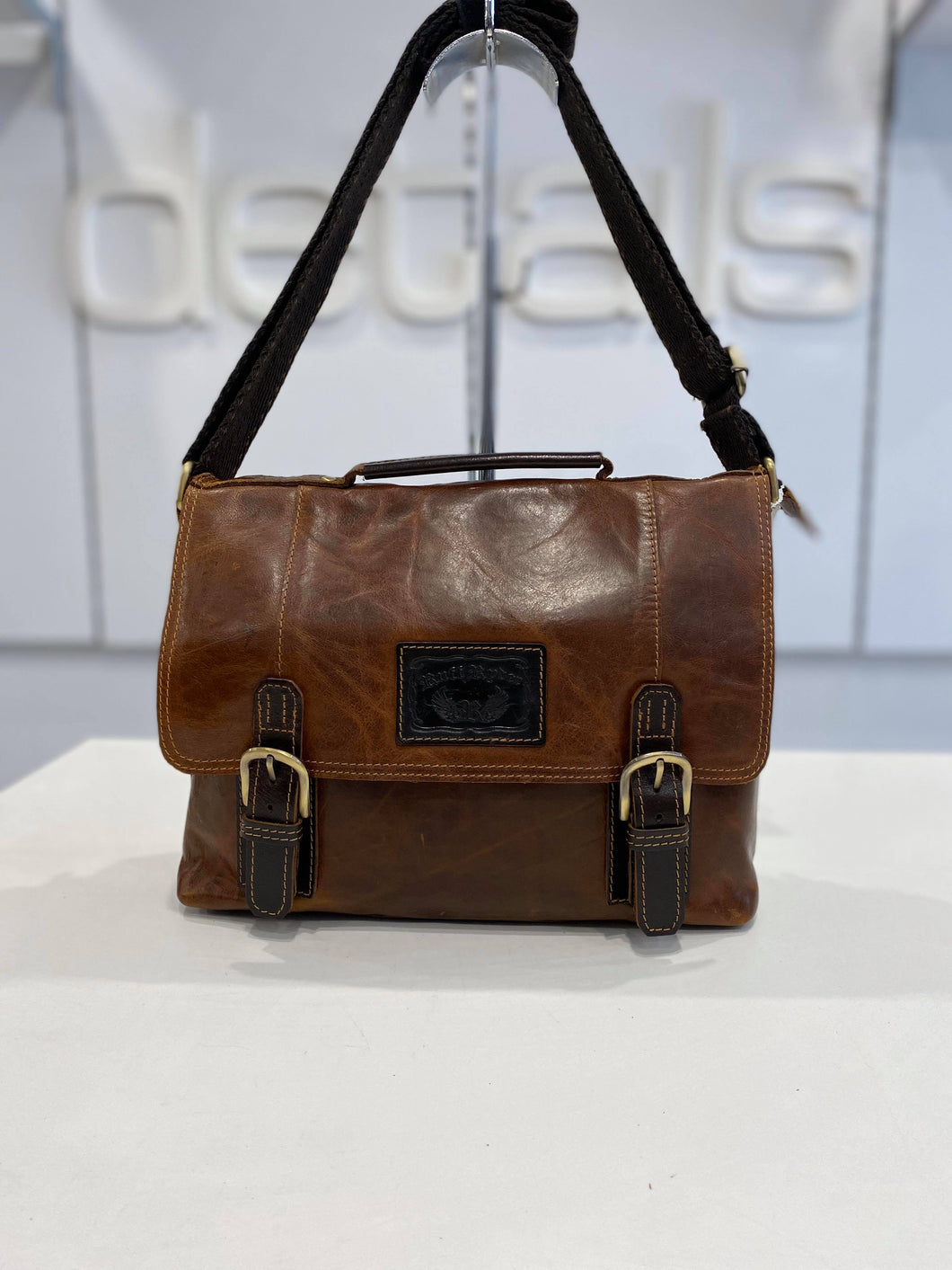 Ruff Ryder Tan Satchel