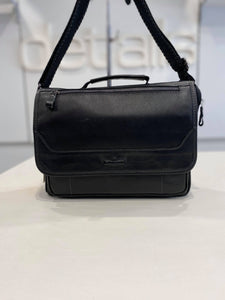 Ruff Ryder Black Satchel