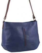 Load image into Gallery viewer, Nappa Two Tone Leather Crossbody