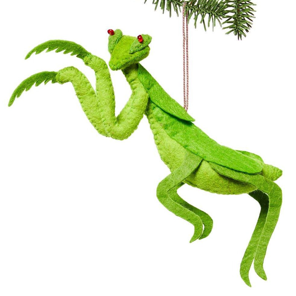 Praying Mantis Ornament