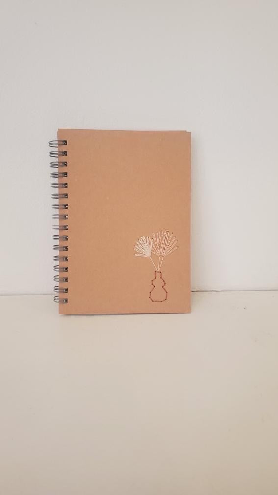 Blush Vase Spiral Notebook