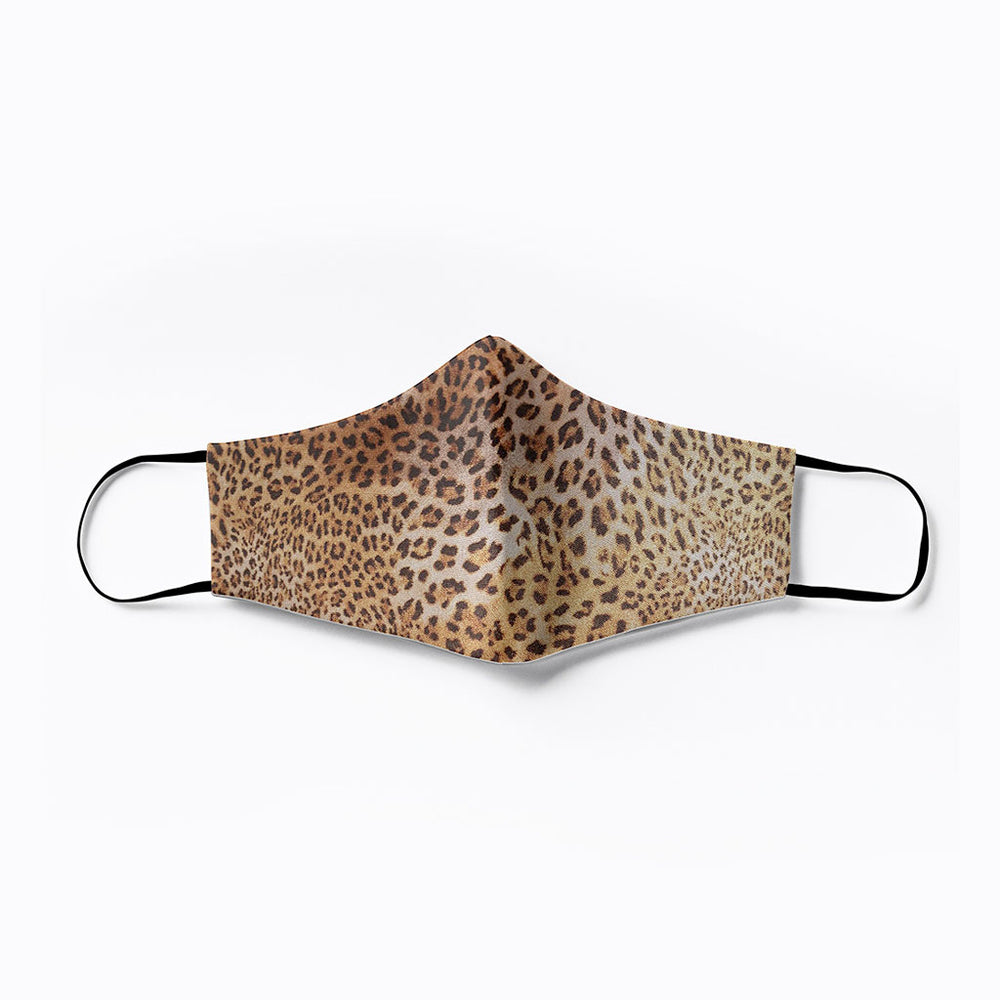 Germ Genie | Essential Travel Products | Fabric Mask - Leopard