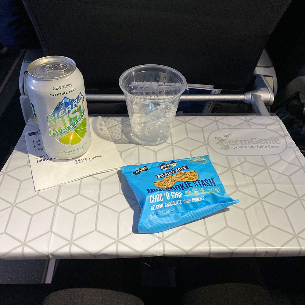 Airplane Tray Table Placemats - 1 Pack of 15