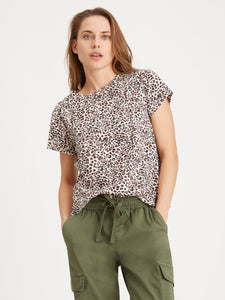 The Perfect Tee in Leopard Lotus