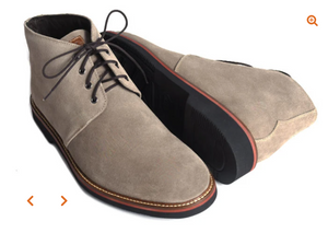 Wakefield Chukka in Suede Stone