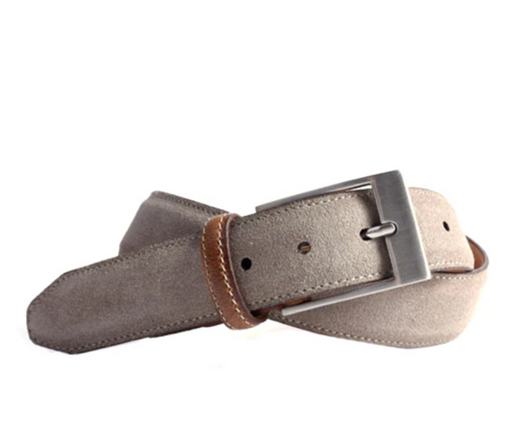 Royal Suede Belt in Serpent