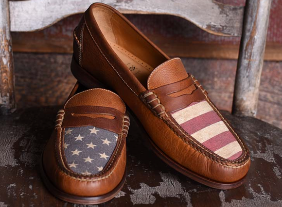*Limited Edition* All-American Oiled Saddle Leather Penny Loafer