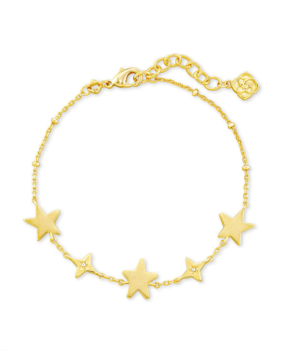 Jae Star Delicate Chain Bracelet in Gold
