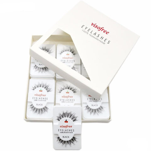 Glamorous Effect Human Hair Lashes - Genius Eyelashes