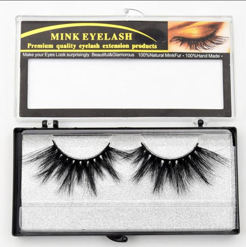 Mink Strip Eyelashes - Genius Eyelashes