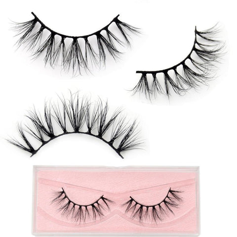 Medium Volume 3D Mink Lashes - Genius Eyelashes
