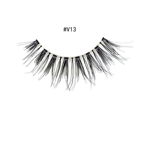 100% Human Hair False Eyelashes - Genius Eyelashes