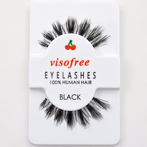 Natural Effect Human Hair Lashes - Genius Eyelashes