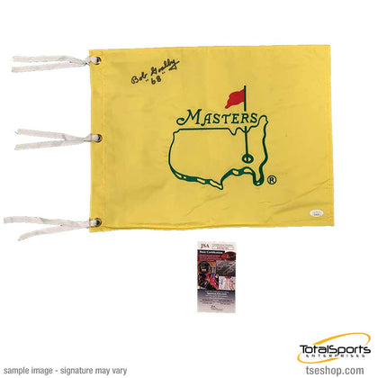 Bob Goalby Signed Masters Pin Flag