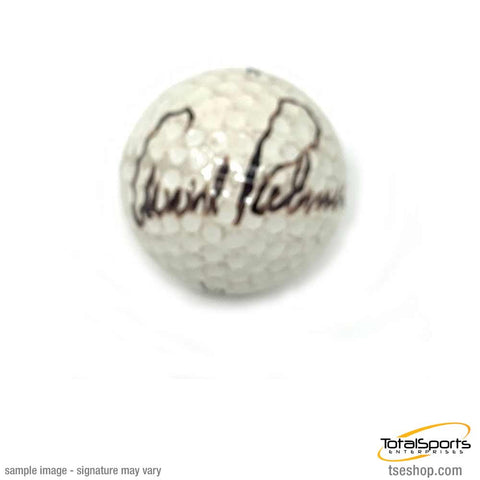 Arnold Palmer Signed Golf Ball