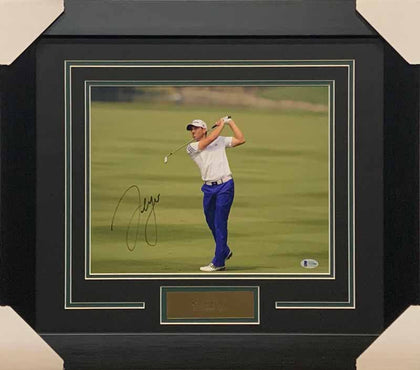 Sergio García Signed After Swing 11x14 Photo - Professionally Framed