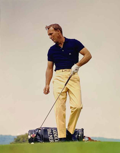 Arnold Palmer UNSIGNED 11x14 Yellow Pants Photo