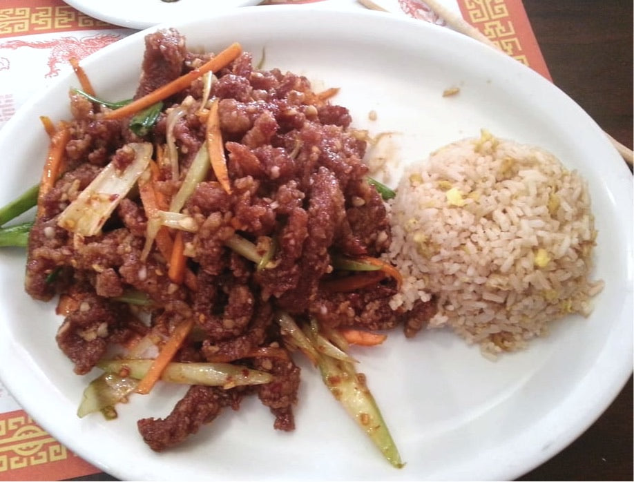 Lunch - Crispy Shredded Beef