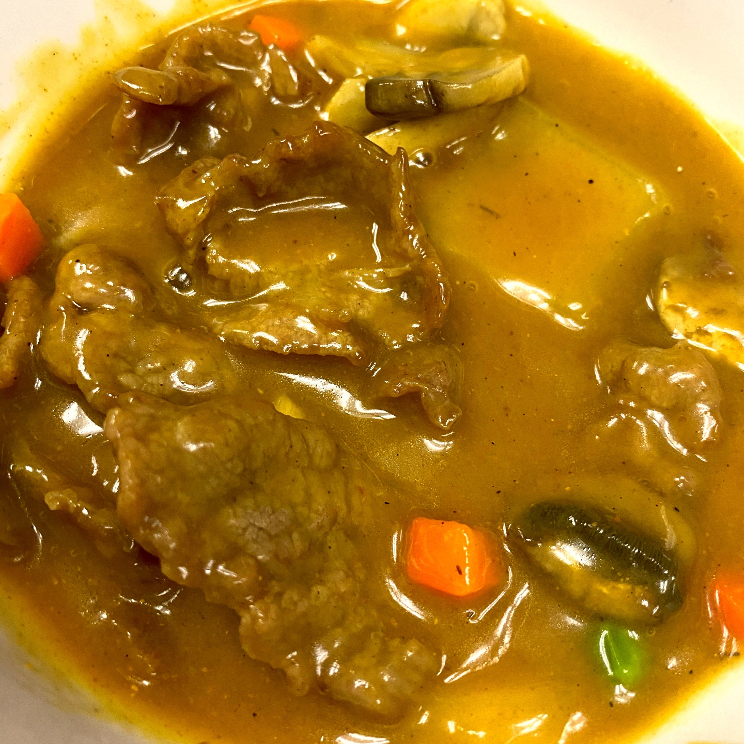 Lunch - Curry Beef*+